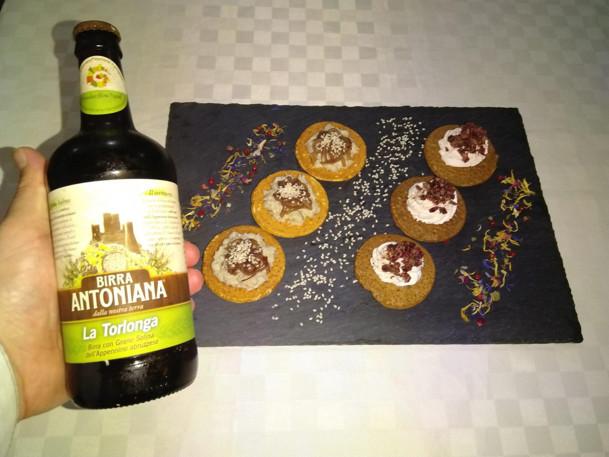 foto piatto e birra
